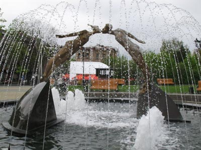 Lovers Fountain - Kharkov Sights