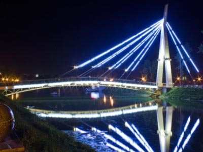 Lovers' Bridge - Kharkiv Sights