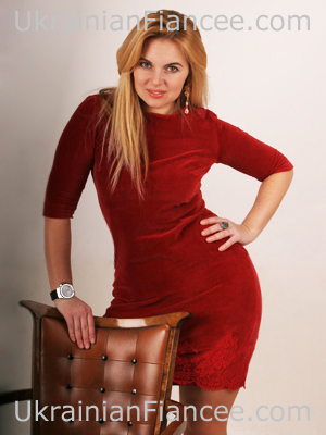 One of the best Ukrainian women - beautiful and attentive